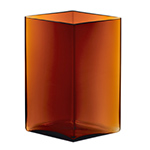 ruutu 10.75 inch tall vase  -