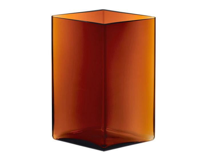 ruutu 10.75 inch tall vase