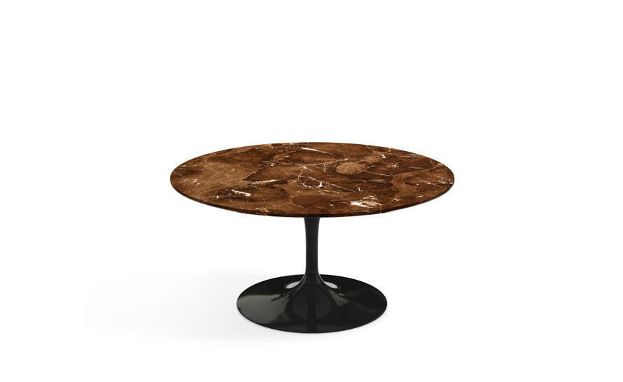 saarinen coffee table espresso marble