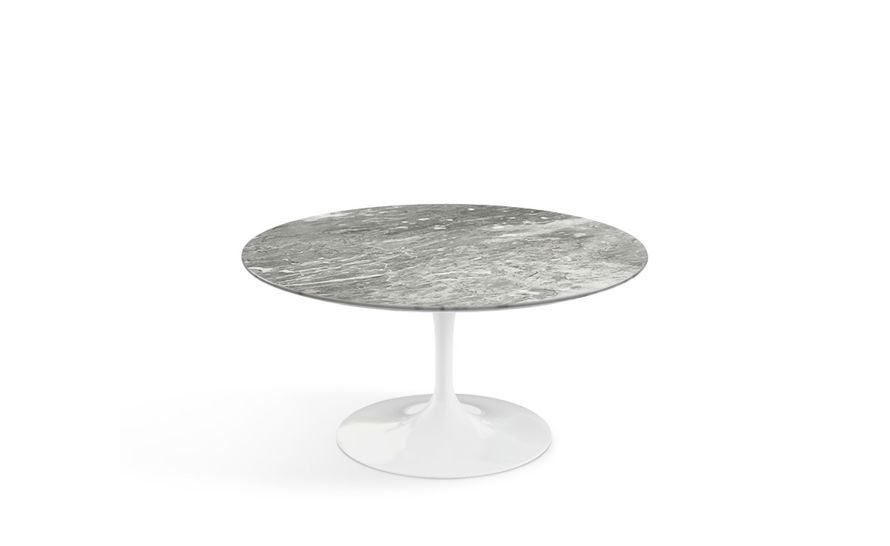 Saarinen Coffee Table Grey Marble Eero Knoll Dining Chairs Sale Gold