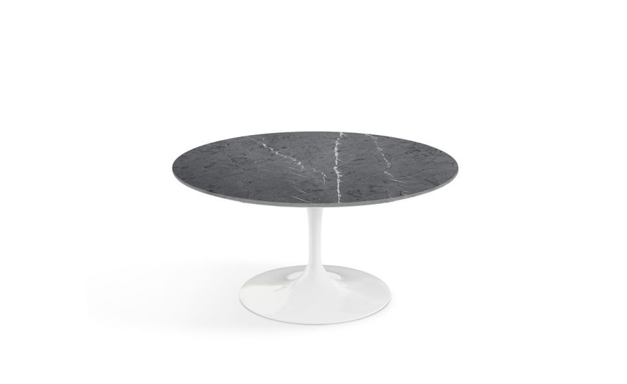 saarinen coffee table grigio marquina marble