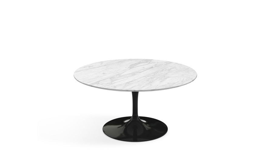 saarinen coffee table natural marbles