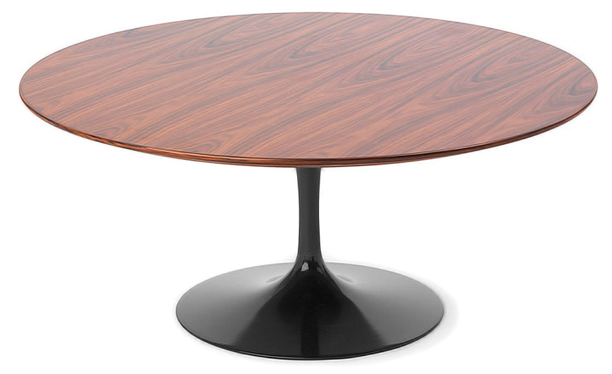 Saarinen Coffee Table Teak Or Rosewood - hivemodern.com
