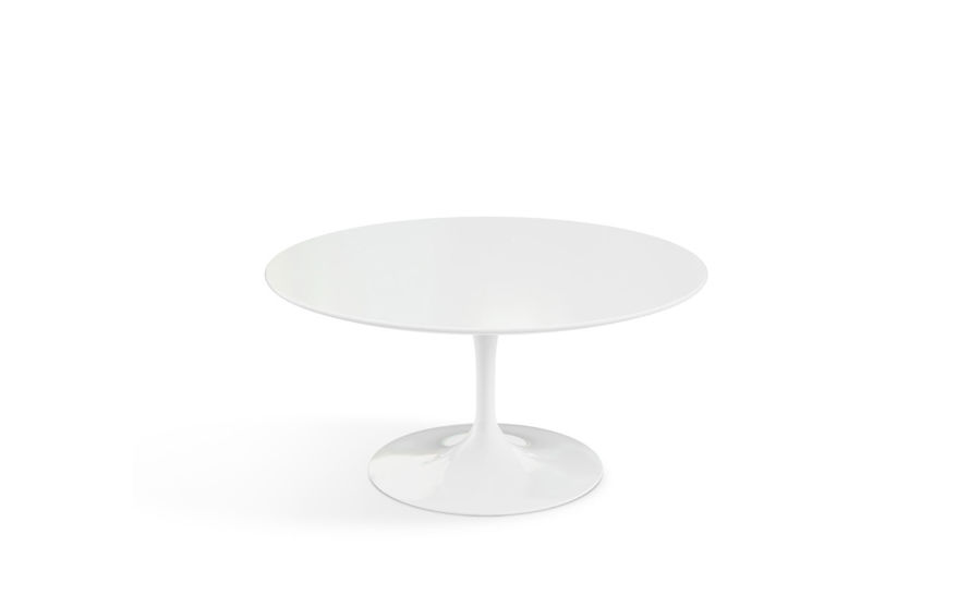 Saarinen Coffee Table White Laminate