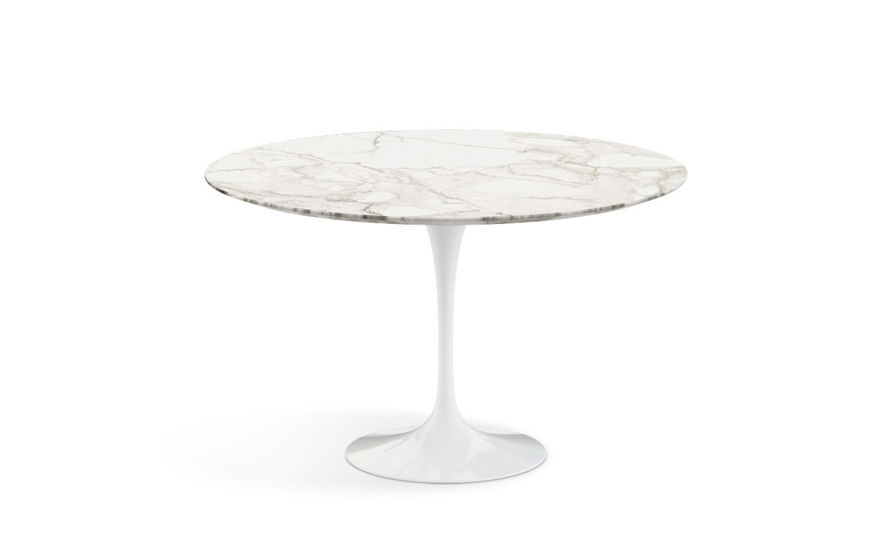 saarinen dining table calacatta marble