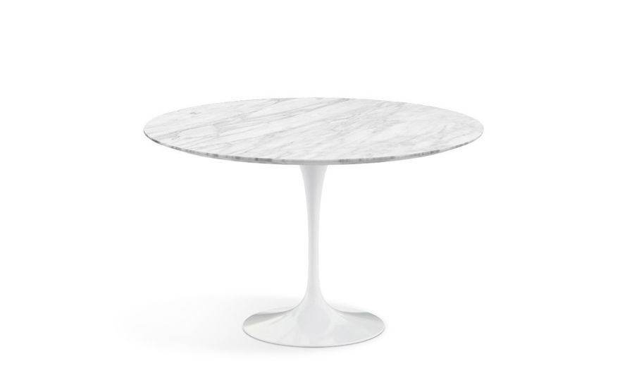 Merveilleux Saarinen Dining Table Carrara Marble