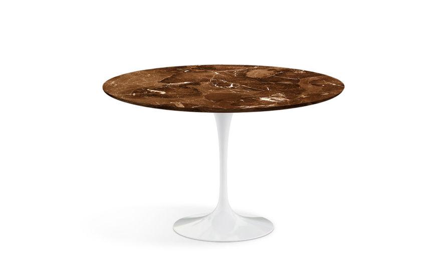 saarinen dining table espresso marble