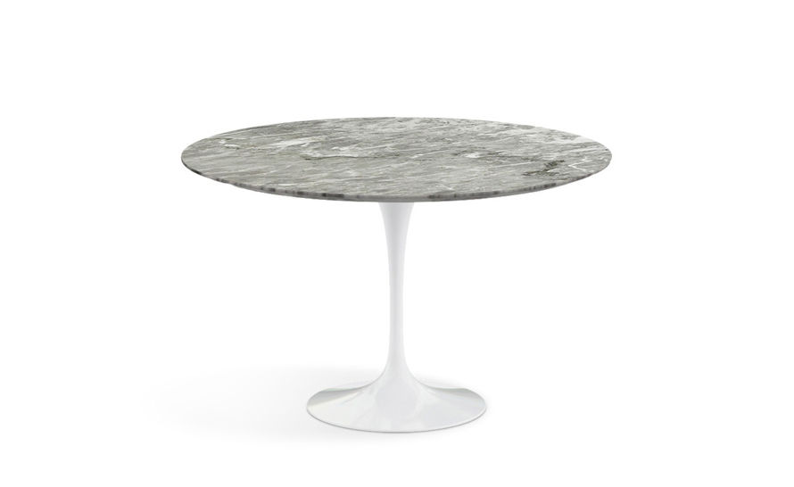 Saarinen Dining Table Grey Marble Hivemoderncom - Saarinen table base for sale