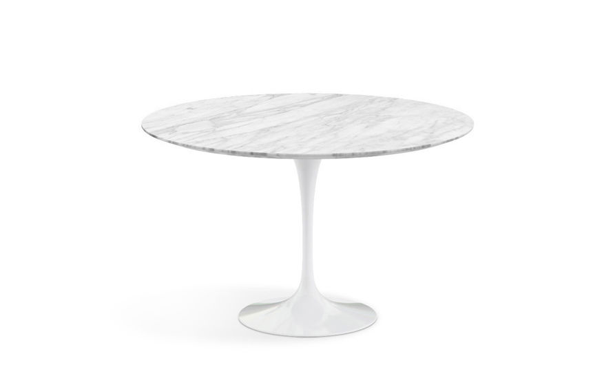 saarinen dining table natural marbles