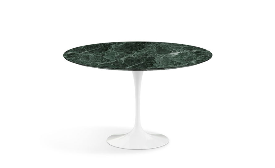 Saarinen Dining Table Verdi Alpi Green Marble Hivemoderncom - Saarinen carrara marble table