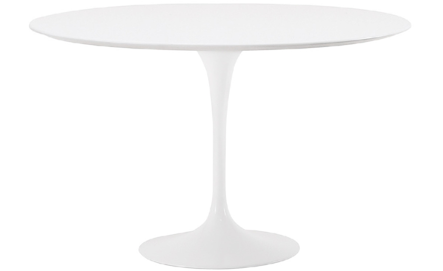 Saarinen Dining Table White Laminate