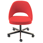 saarinen executive swivel side chair
