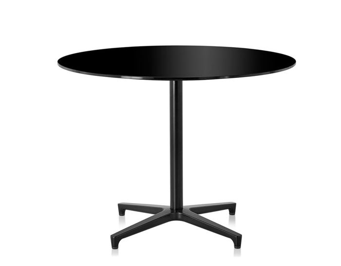 saiba glass top table
