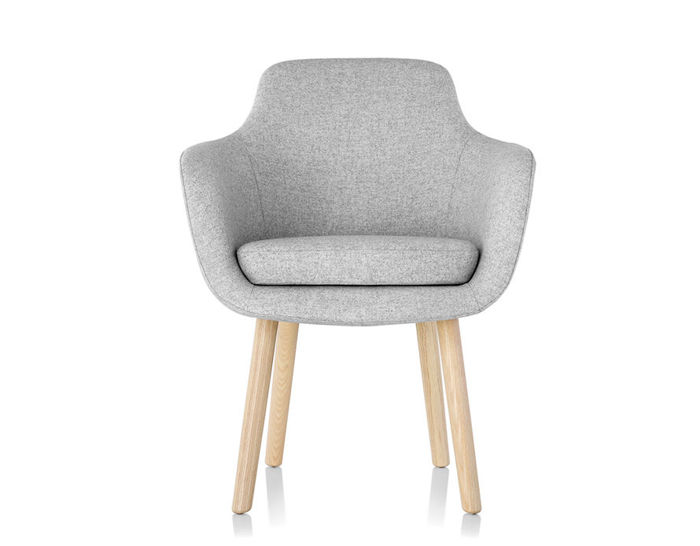 saiba mid back side chair