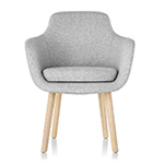 saiba mid back side chair  -