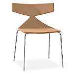 saya chair with metal legs and full upholstery  -