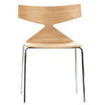 saya chair with metal legs  -