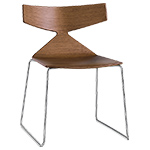 saya sled base chair - Altherr & Molina Lievore - arper