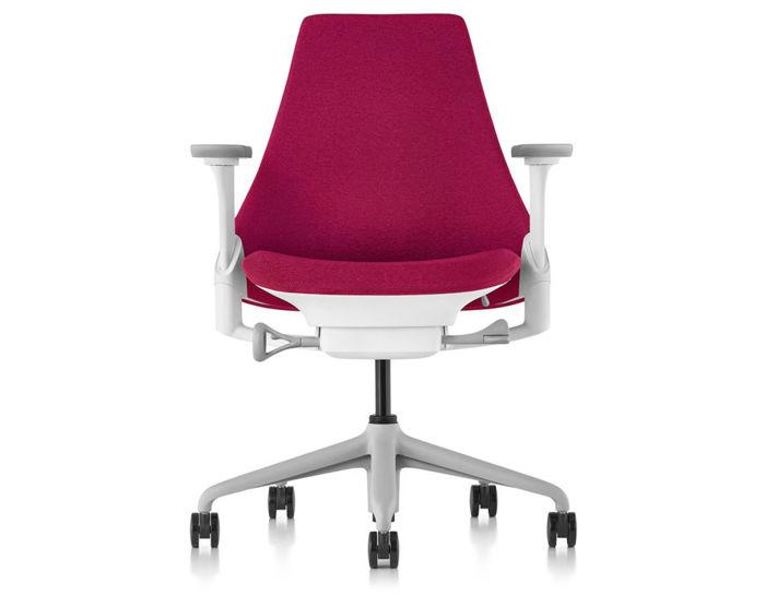 sayl task chair with upholstered back