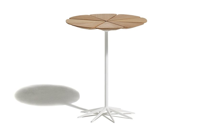 schultz petal end table