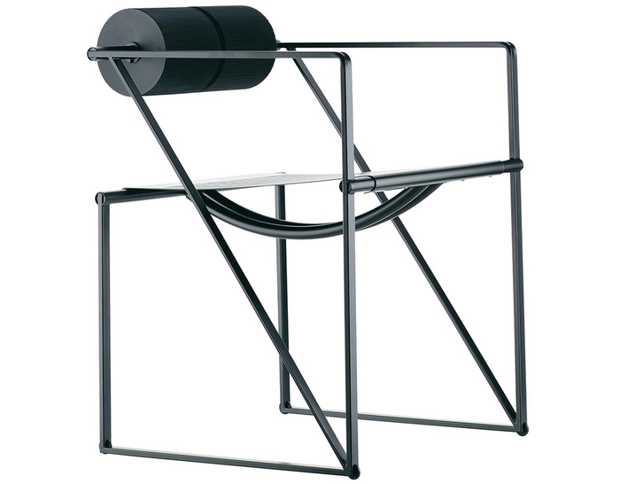 seconda chair with arms