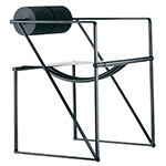seconda chair with arms  -