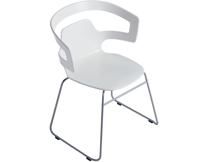 segesta sled base stacking chair