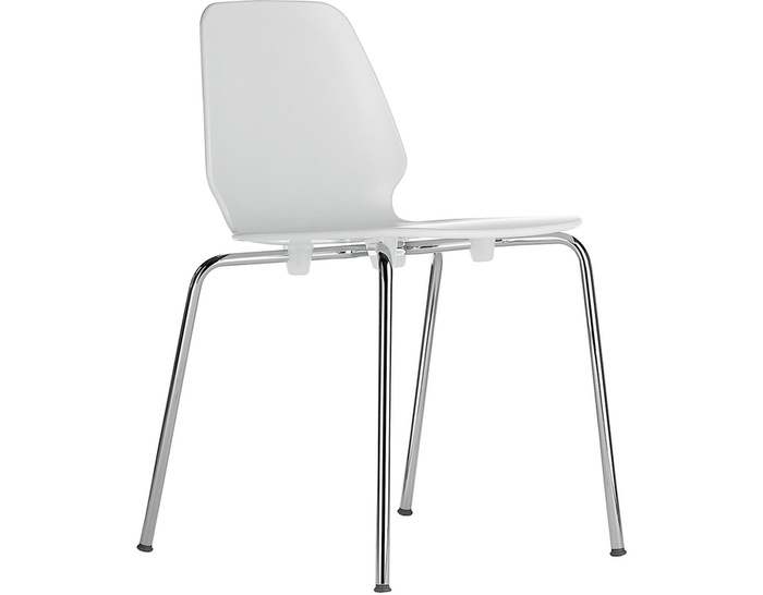 selinunte 4-leg stacking chair