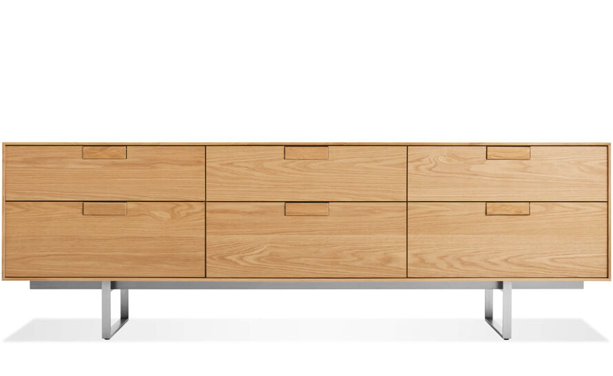 series 11 six drawer console