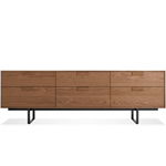 series 11 six drawer console  - blu dot