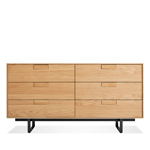 series 11 six drawer dresser  - blu dot