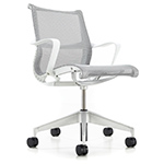 setu chair with 5 star base  - Herman Miller