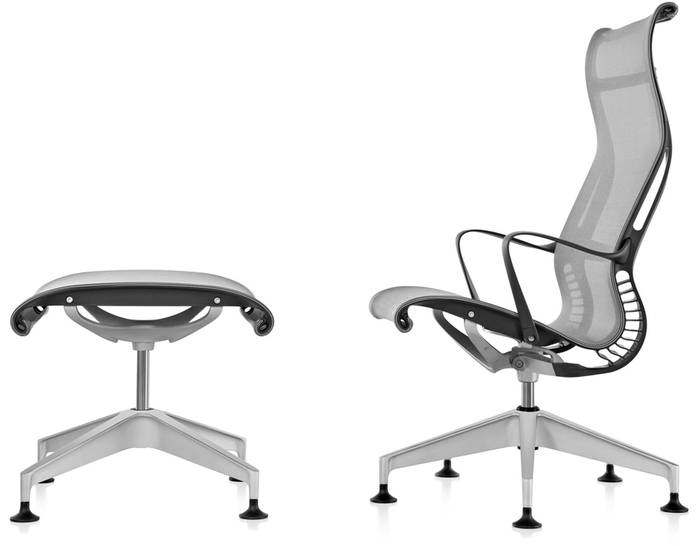 setu lounge chair & ottoman