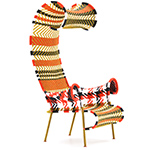 shadowy armchair - Tord Boontje - Moroso