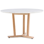 shaker round dining table 764  -
