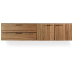 shale 2 door / 2 drawer wall mounted cabinet  -
