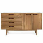 shale 4 drawer 2 door  - blu dot