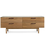 shale 4 drawer dresser  - blu dot