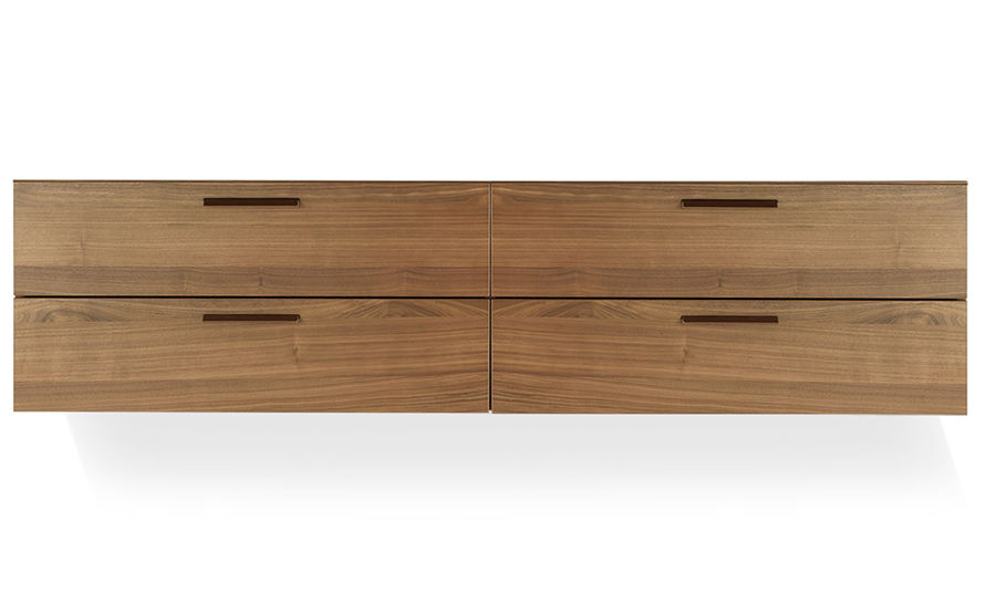 Shale 4 Drawer Wall Mounted Cabinet Hivemodern Com