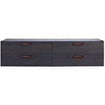 shale wall mounted dresser  - blu dot