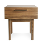 shale bedside table  - blu dot