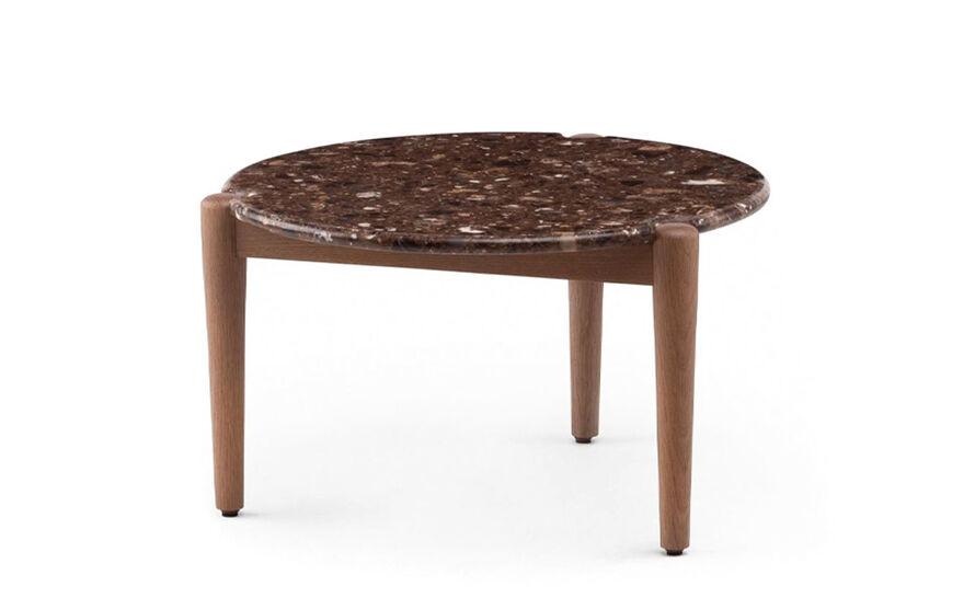 sidekicks coffee table 456mm with terrazzo top