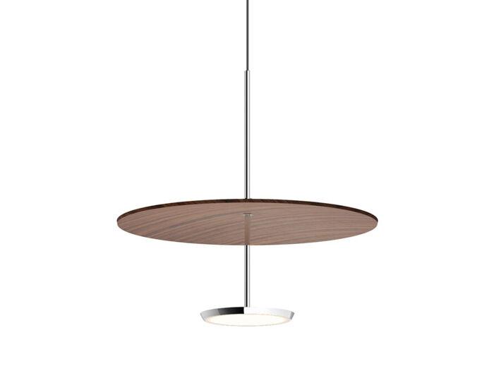 sky dome wood pendant light