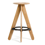 slab bar stool  -