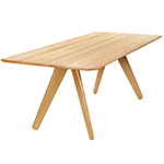 slab rectangular dining table  -