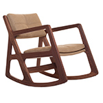 sleepy blind tufted rocking chair 273  -