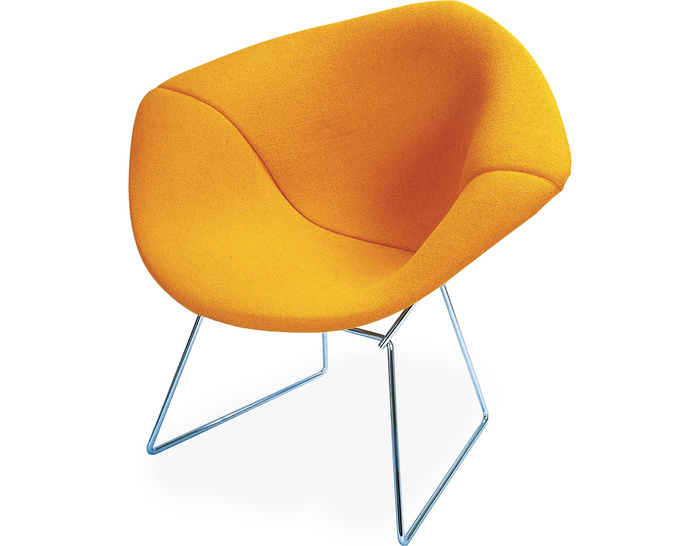 Bertoia Small Diamond Chair With Full Cover Hivemoderncom