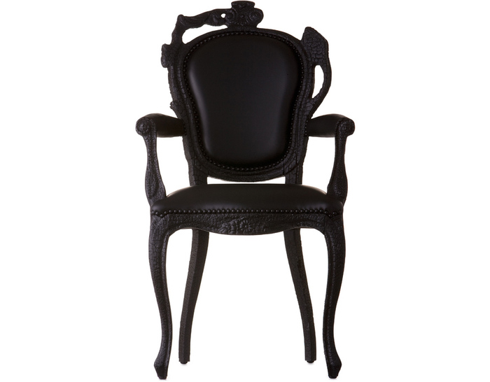 smoke dining armchair