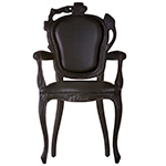 smoke dining armchair  -