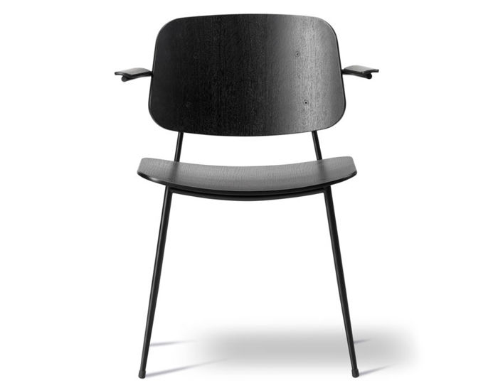 soborg steel base armchair